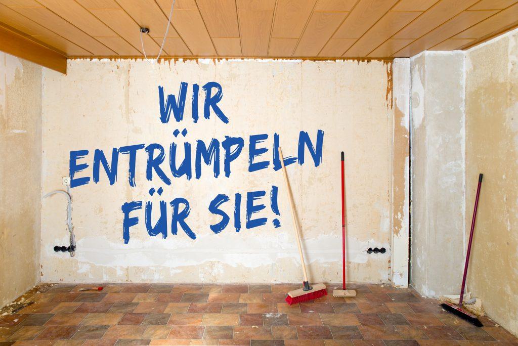 Wir entrümpeln für Sie in Baden-Württemberg